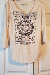 Lucky brand 3/4 length sleeves